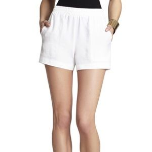 BCBGMAXAZRIA Noah Linen Shorts